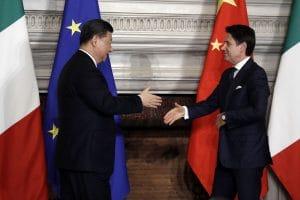 Italia, BE-ja dhe Kina. Dashuri ne kohërat e kolerës.
